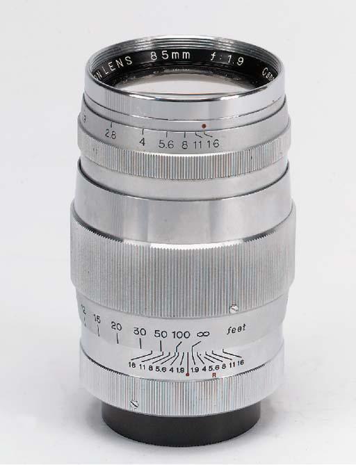 Canon 85mm. f/1.9 no. 68684
