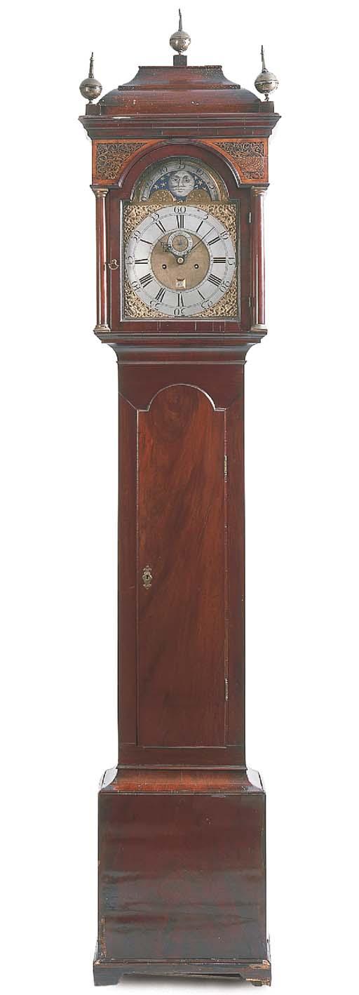 A Scottish George III mahogany longcase clock