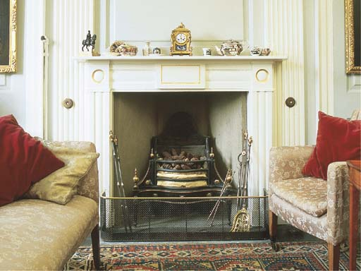 A late George III cast-iron an