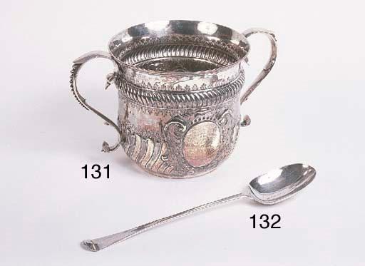 A large George I silver bastin