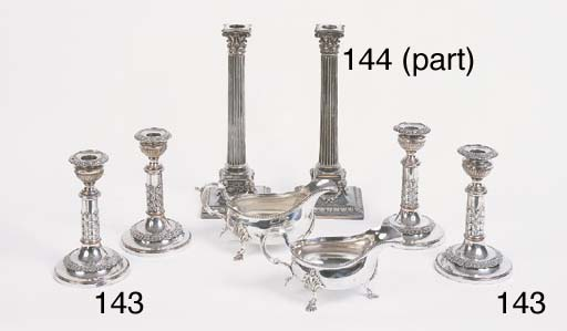 A mixed lot of silver and plat