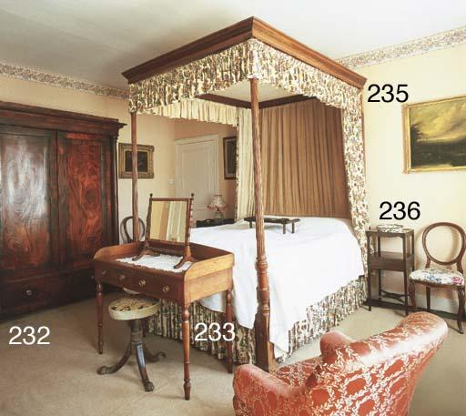 A George IV mahogany wardrobe