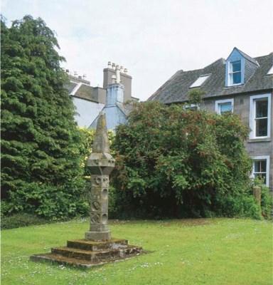 A Scottish sandstone sundial