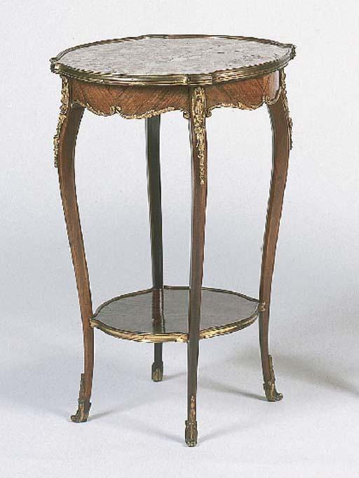 A gilt-metal-mounted kingwood