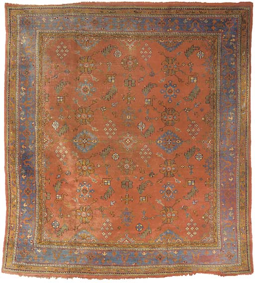 A similar Ushak carpet