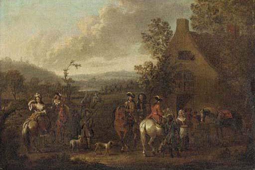 Circle of Dirck Maas (Haarlem