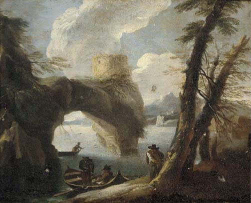 Circle of Pieter Mulier II, il