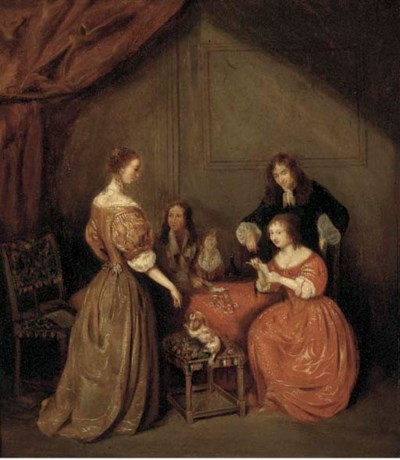 Manner of Gerard Ter Borch