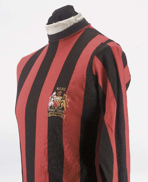 A red and black Manchester Cit