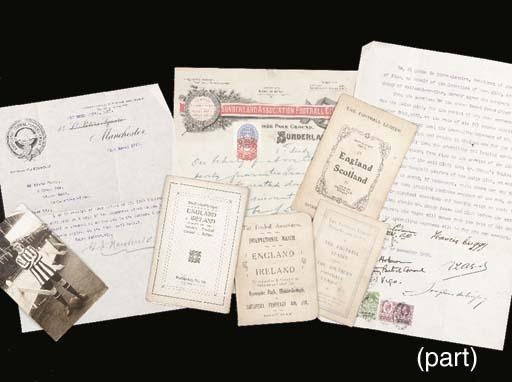 A collection of ephemera relat