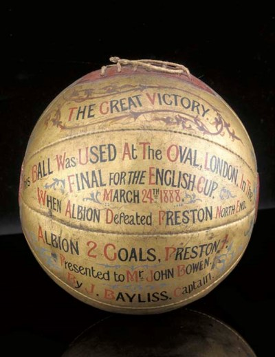 The segmented leather ball, gi