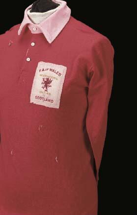 A red Wales v. Scotland Intern