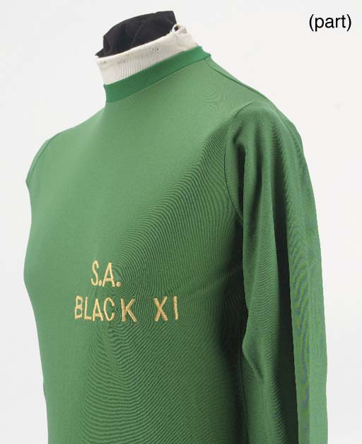A green South Africa Black XI