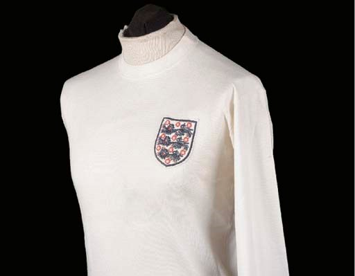 A white England International
