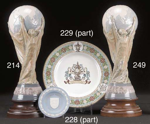 A Lladro World Cup, inscribed