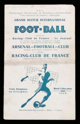 Racing Club De France v. Arsen