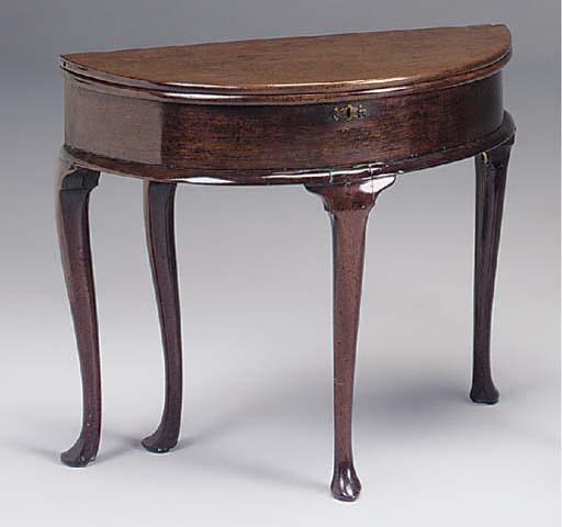 A GEORGE II TEA TABLE