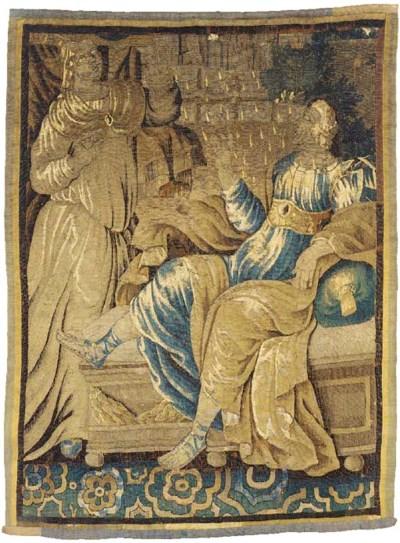 A LOUIS XIV AUBUSSON MYTHOLOGI