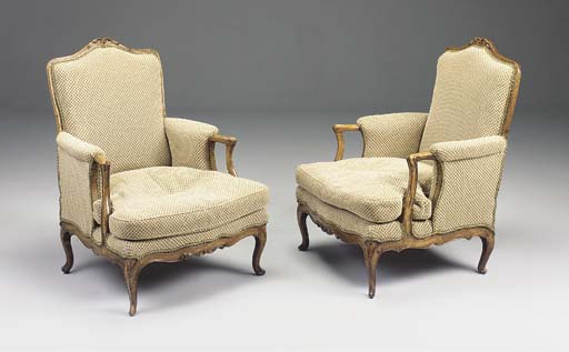 A PAIR OF FRENCH PROVINCIAL WA