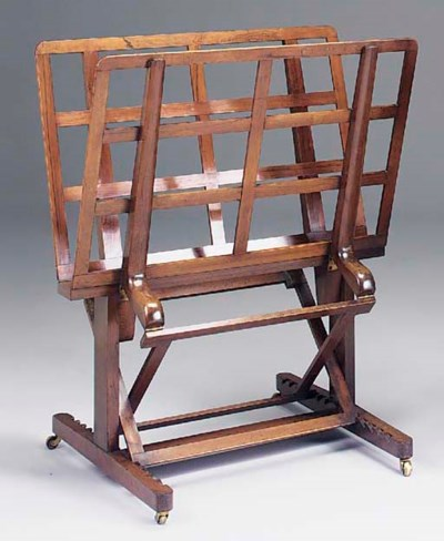AN EARLY VICTORIAN ROSEWOOD FO