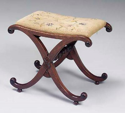 A REGENCY POSSIBLY ROSEWOOD AN