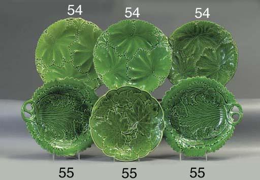 Eight various Copeland green-g