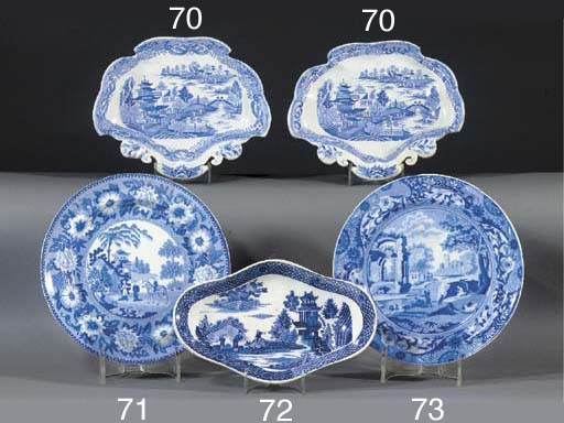 A pair of Staffordshire ironst