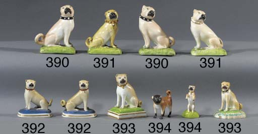 Two Derby models of pugs