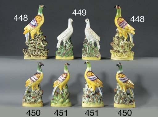 A pair of models of roc birds