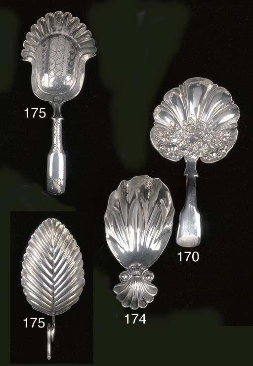 A George III Irish caddy spoon