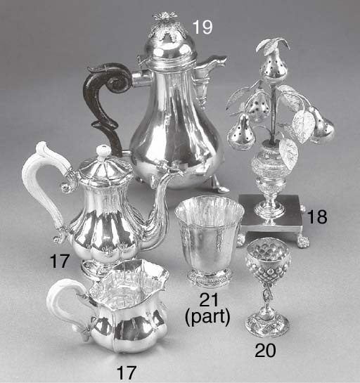A French Silver Beaker and an