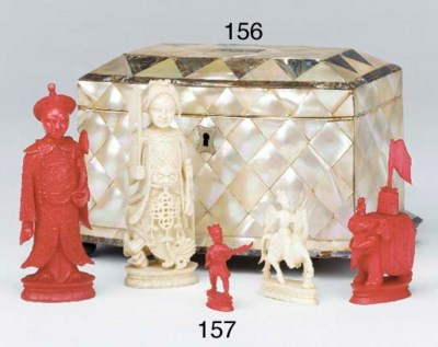 A Cantonese carved ivory and s