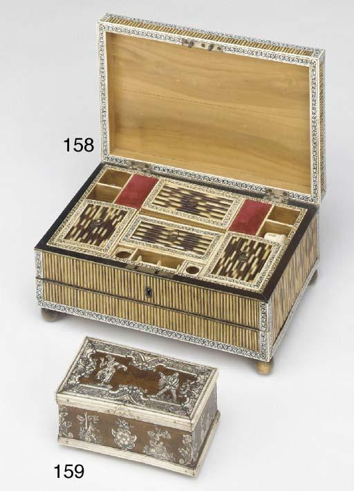A Dutch Colonial wood and bone
