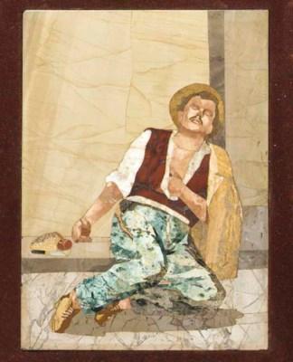 An Italian Pietra Dure panel d