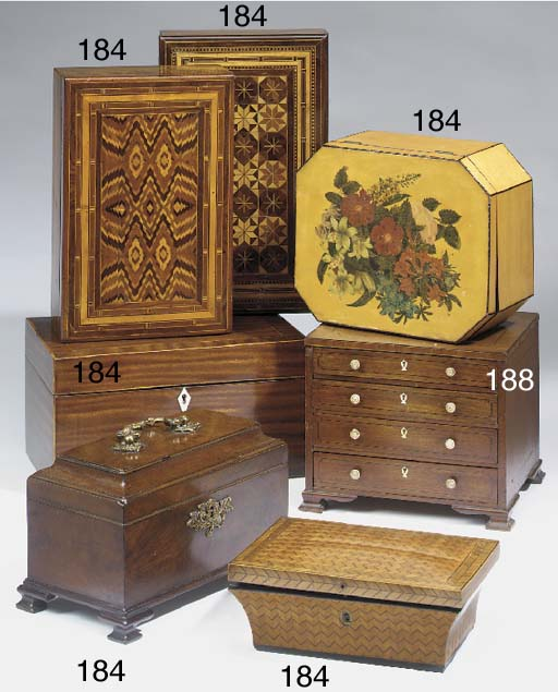 A George II mahogany veneered
