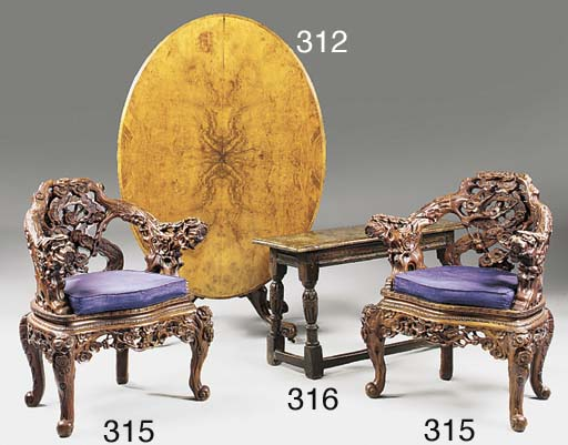 A PAIR OF CHINESE ARMCHAIRS, 2