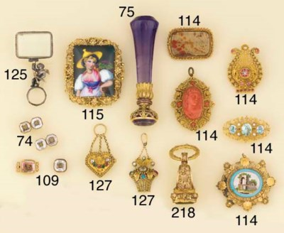 A collection of antique access