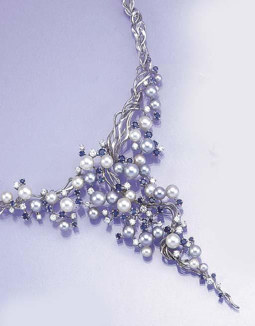 A diamond, sapphire and cultur