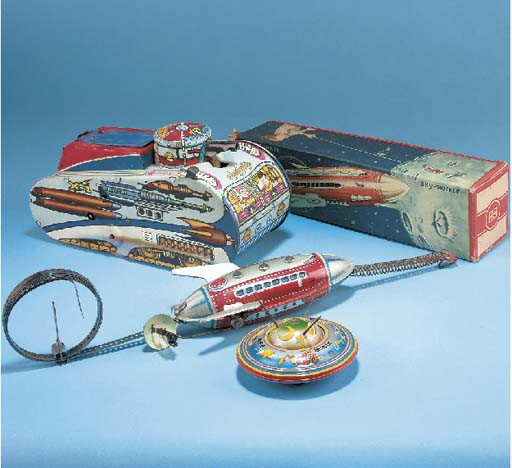 German and American Space Toys