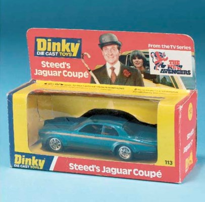 A Dinky metallic blue 113 Stee