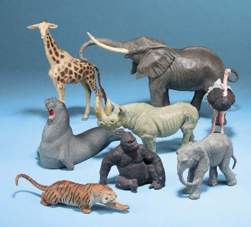 Lineol Wild Animals