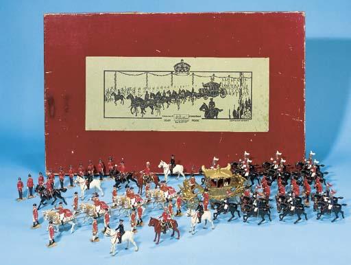 A Britains Set 1477 Coronation
