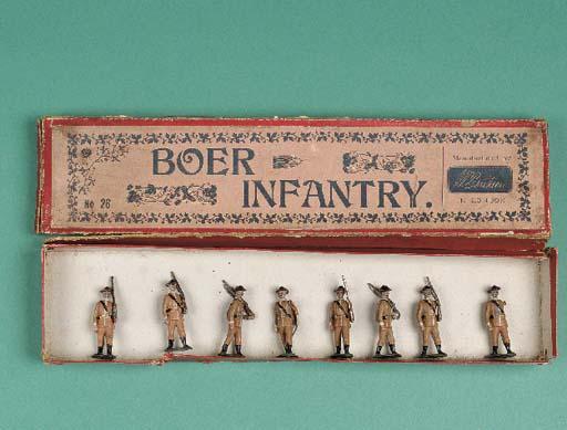 Britains set 26 Boer Infantry