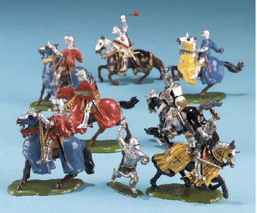 Britains Knights of Agincourt,