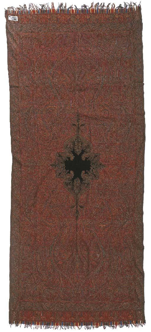 A long jamawar shawl, finely w
