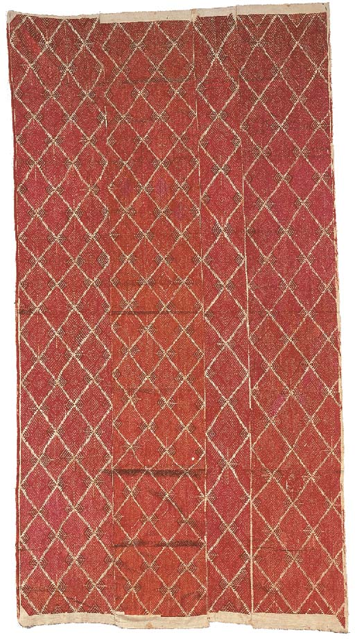 A bagh phulkari, the cotton gr