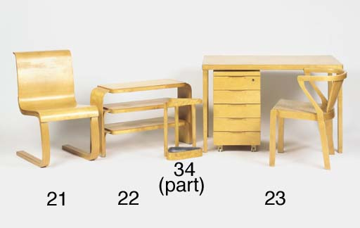 DESK, DRAWER UNIT AND CHAIR, N