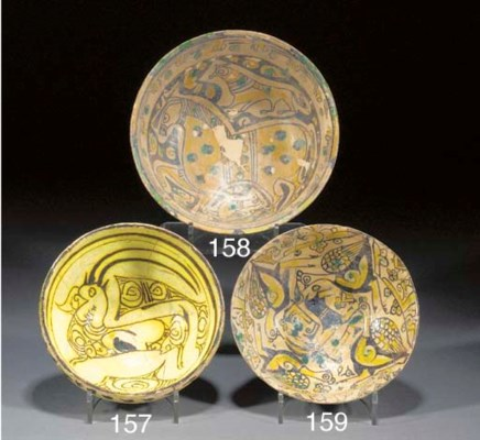 A Nishapur rounded pottery bow