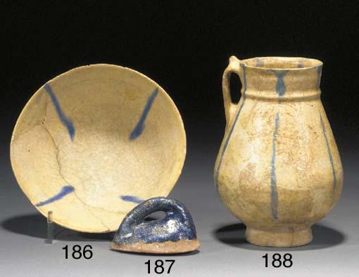 A Persian pottery mould