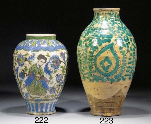 A late Safavid pottery storage
